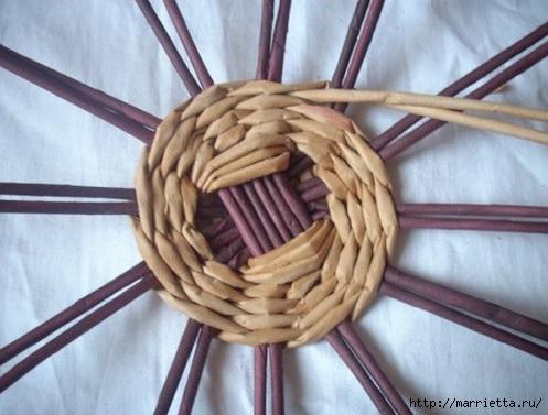 Плетение из газет. Мастер-классы по плетению корзинок и вазочек (21) (497x377, 117Kb)
