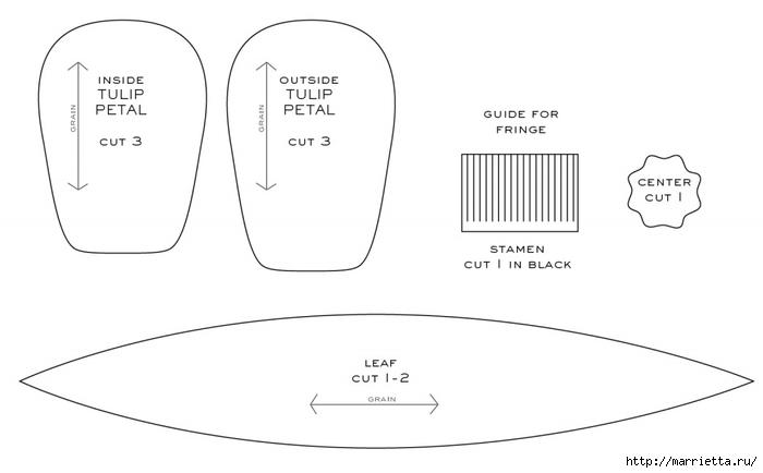 Тюльпаны из гофрированной и офисной бумаги. Мастер-классы (18) (700x434, 82Kb)