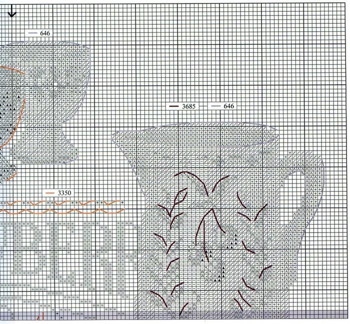 Stitchart-summer-fruit2 (700x648, 732Kb)