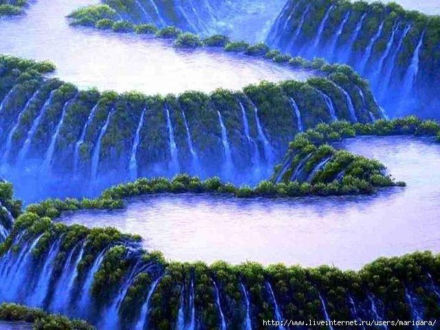 Картинки jpg природа водопады