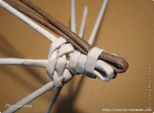 Плетение из газетных трубочек. ЕНОТ (8) (520x381, 80Kb)