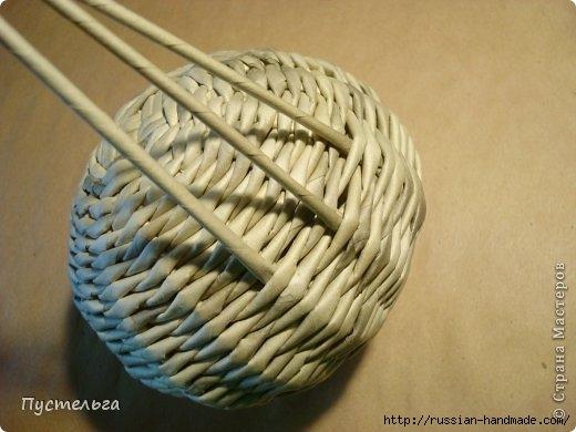 Плетение из газетных трубочек. ЕНОТ (15) (520x390, 109Kb)