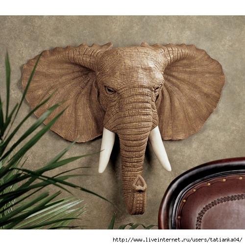 Как сделать из папье-маше слона