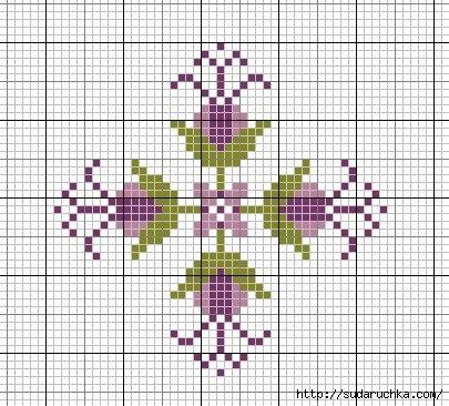 Вышивка крестиком - схемы для