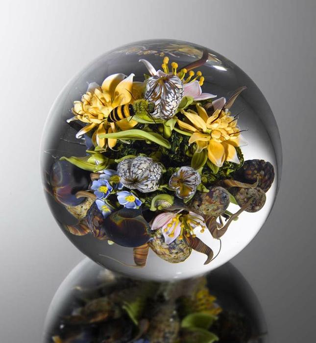 стеклянные шары Paul Stankard 1 (645x700, 230Kb)