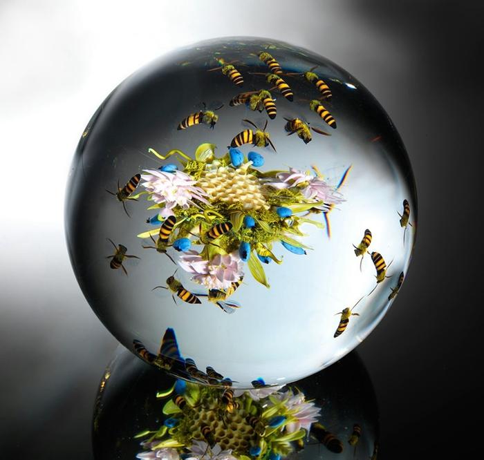 стеклянные шары Paul Stankard 3 (700x666, 240Kb)