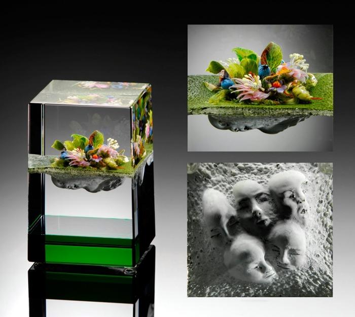стеклянные шары Paul Stankard 9 (700x625, 232Kb)