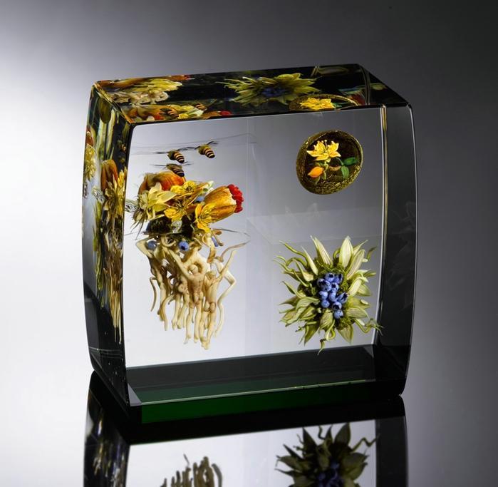 стеклянные шары Paul Stankard 11 (700x683, 230Kb)