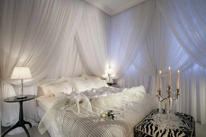 Bedroom romance ideas