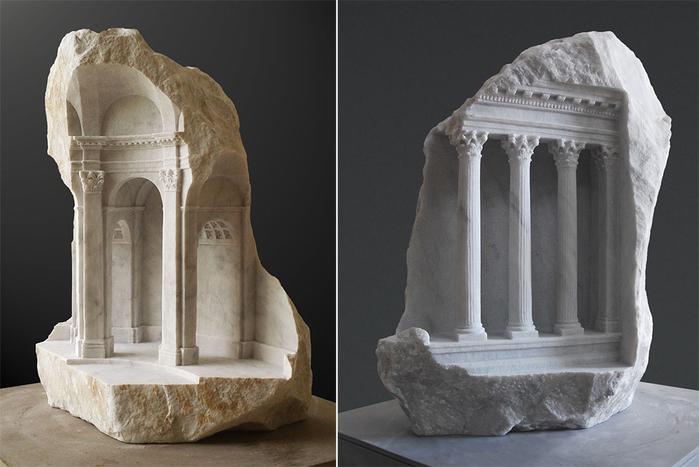 скульптуры из мрамора 2 (700x467, 259Kb)