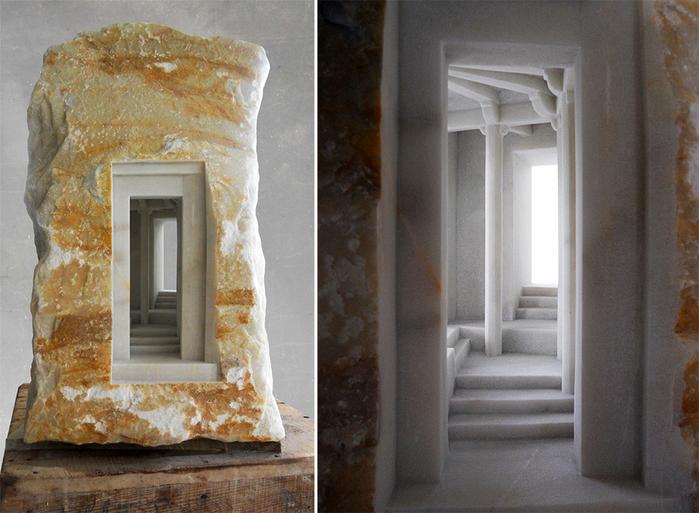 скульптуры из мрамора 4 (700x513, 427Kb)