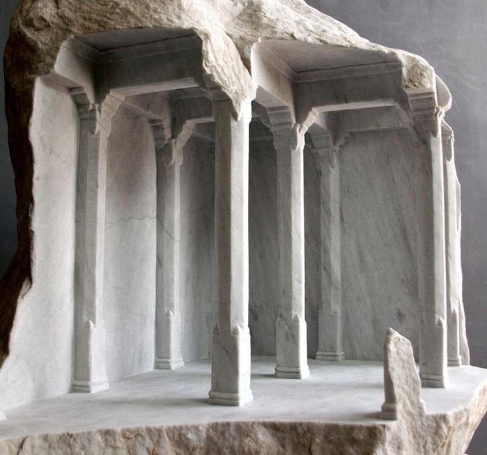 скульптуры из мрамора 10 (700x653, 409Kb)