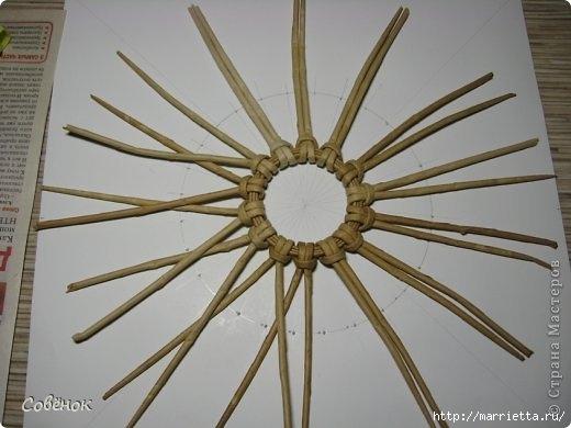 Ажурная крышка для шкатулки из газетных трубочек. Мастер-класс (15) (520x390, 100Kb)