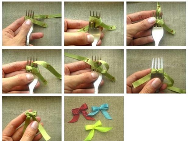 Как сделать своими руками бантики