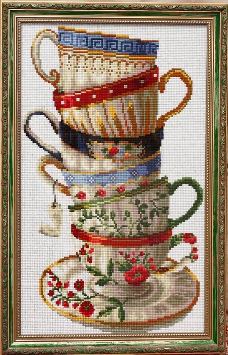 Схемам вышивки чайной чашки