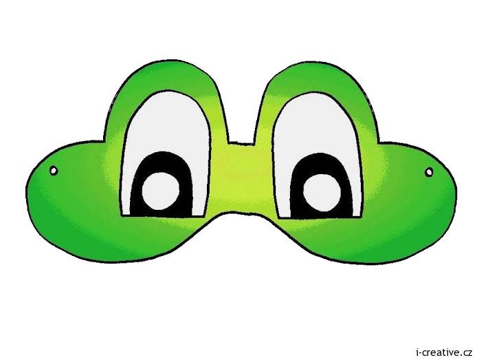 Шапочка лягушки из бумаги