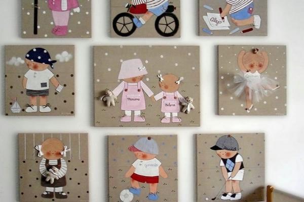 Детская своими руками стен