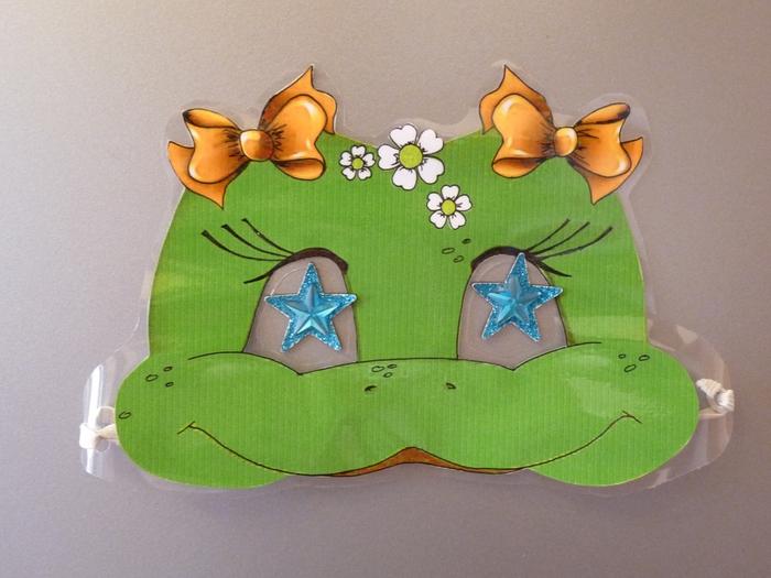 маска лягушки, как сделать маску лягушки, выкройка маски лягушки, маска лягушонка,/4682845_P1090735 (700x525, 243Kb)