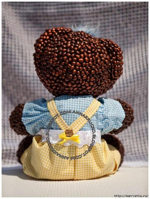 Медвежата из кофейных зерен (5) (528x700, 297Kb)