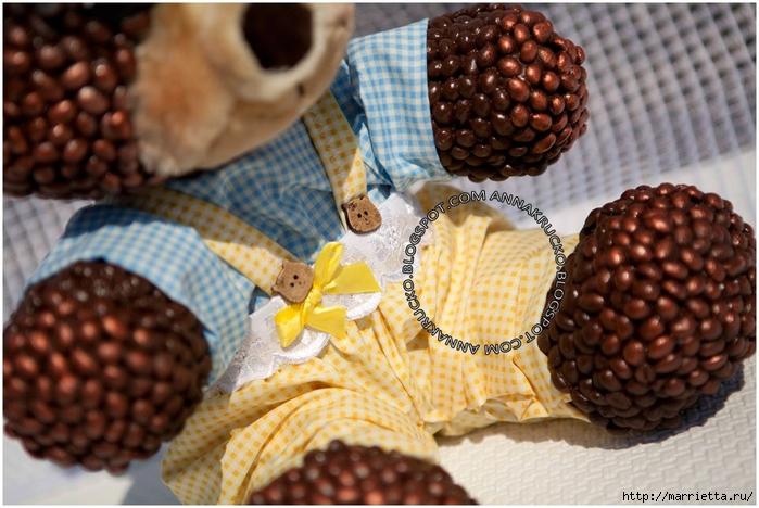 Медвежата из кофейных зерен (7) (700x468, 273Kb)
