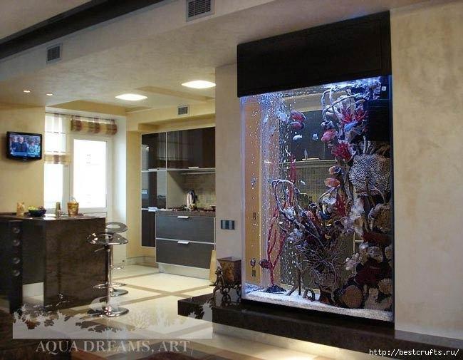 аквариум в интерьере (8) (650x505, 180Kb)