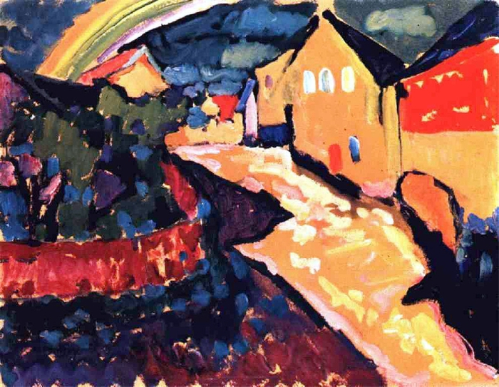 peinture-kandinsky-murnau-with-rainbow-1909 (700x543, 329Kb)