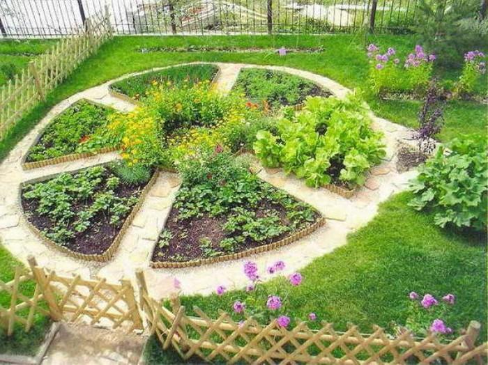 Огород и цветник своими руками с