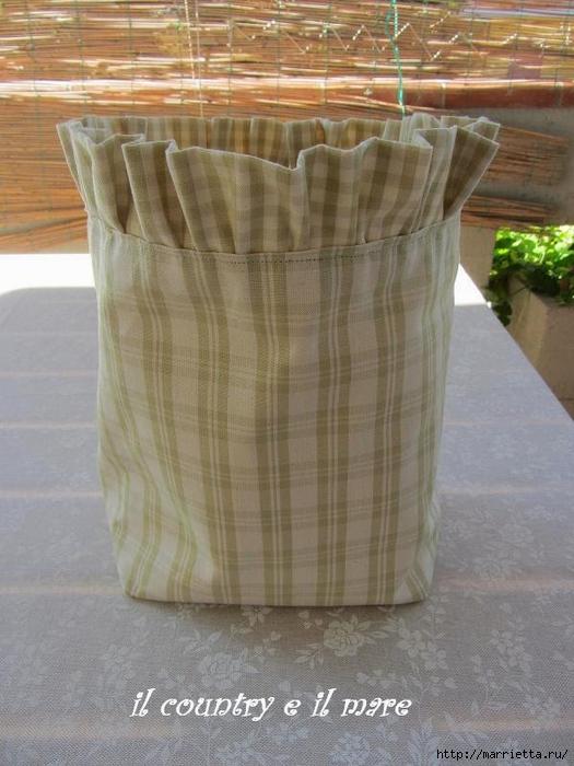 Cosa ti mismo un bolso de pinzas de la ropa.  Master Class (12) (525x700, 256Kb)