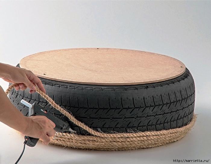 Otomano, jardineras para flores y eco-silla suave del neumático (7) (700x543, 249KB)