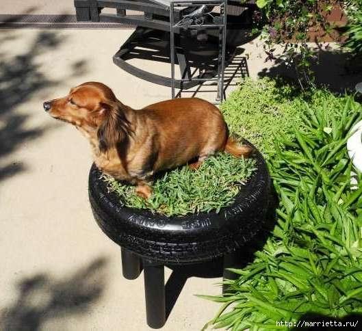 Otomano, jardineras para flores y eco-silla suave del neumático (14) (529x484, 165Kb)