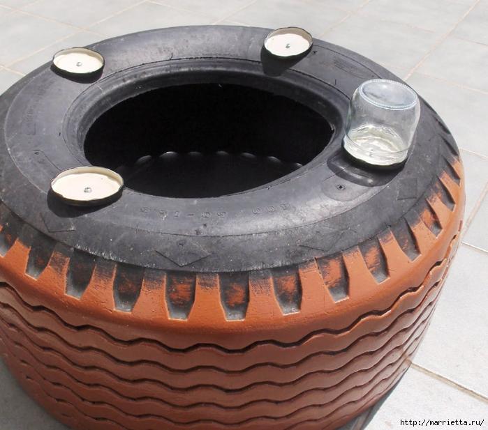 Otomano, jardineras para flores y eco-silla suave del neumático (18) (700x617, 298KB)
