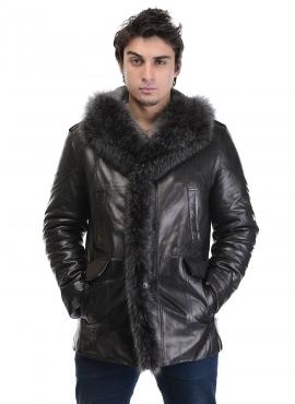 Мужские кожаные куртки и дубленки от фабрики Каляев (7) (270x370, 67Kb)
