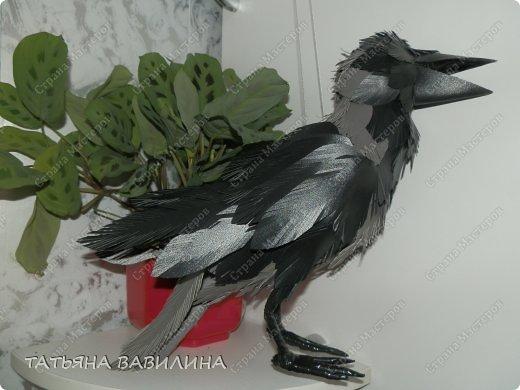 Птицы из бросового материала