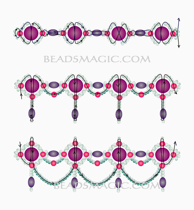 free-pattern-beaded-necklace-tutorial-2 (647x700, 269Kb)