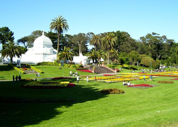 ботанический сад сан-франциско фото 1 (700x499, 403Kb)