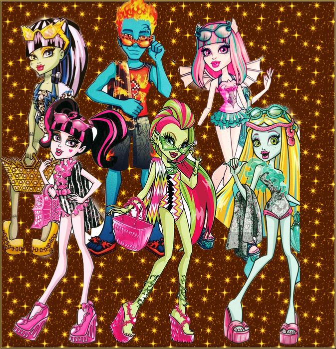 Куклы Монстер Хай (373x400, 387Kb)