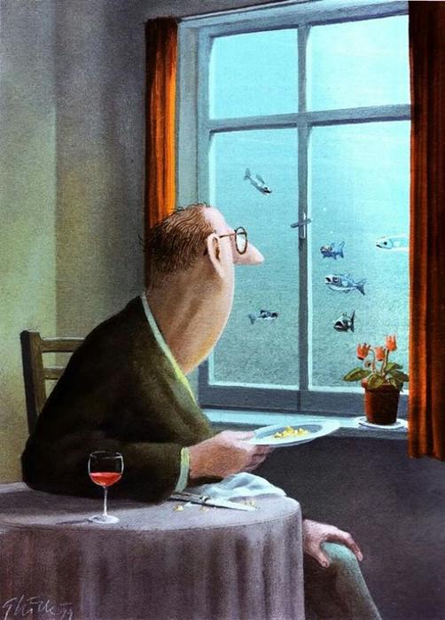 1 Андре охотно покормил бы рыбок, но опасался последствий (502x700, 360Kb)