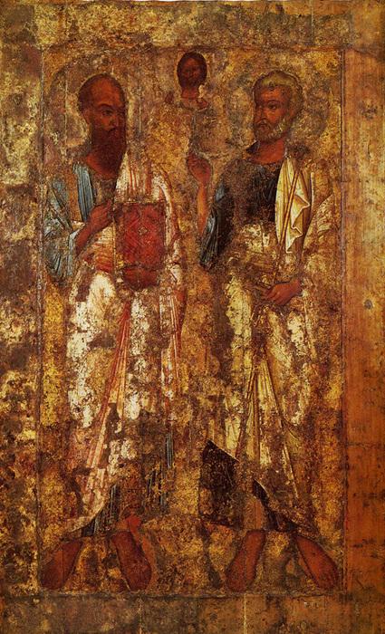 Апостолы Петр и Павел(в Новгороде) (425x700, 260Kb)