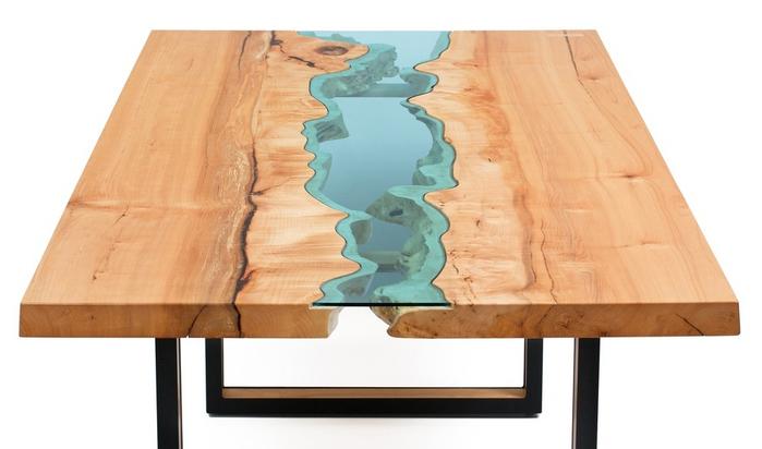 красивые деревянные столы Greg Klassen фото 1 (700x412, 223Kb)