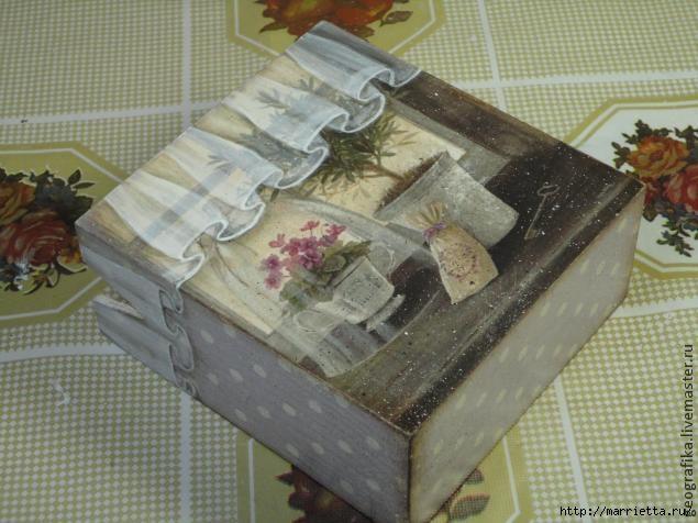 Декупаж. Рисуем вуаль со складочками. Мастер-класс (14) (635x476, 157Kb)