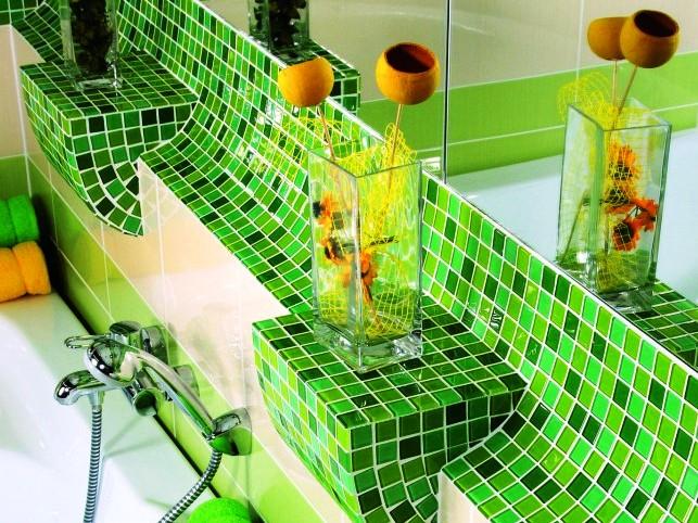 Без мозаики ванная комната – не ванная комната!