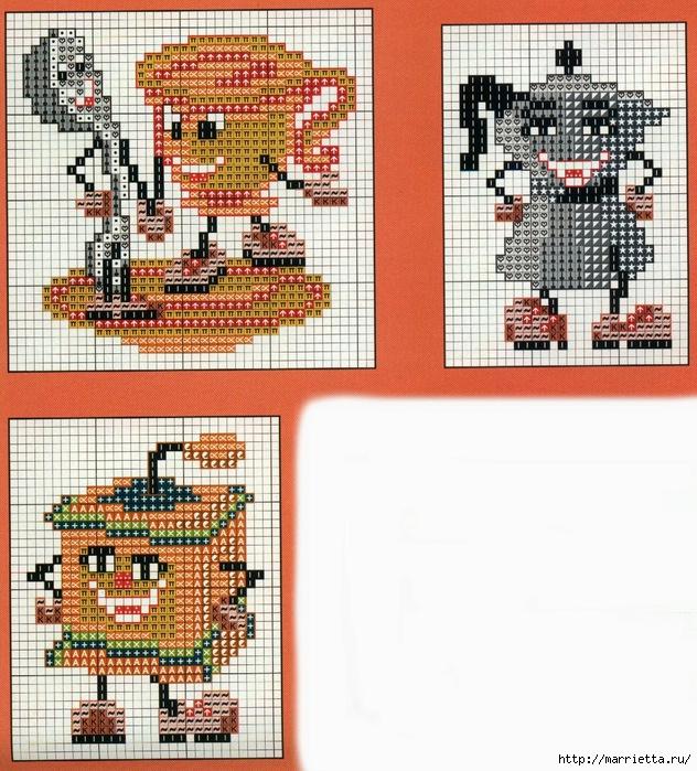 Веселенькая вышивка для кухни (2) (632x700, 347Kb)