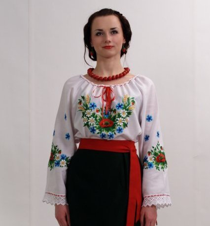 Украинские вышитые рушники и вышиванки (8) (426x458, 89Kb)