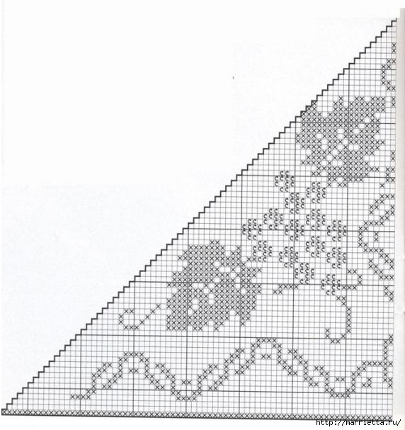 Вязание крючком. Стильные идеи и схемы для уюта в доме (6) (572x607, 182Kb)