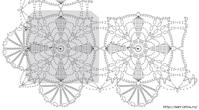 Вязание крючком. Стильные идеи и схемы для уюта в доме (21) (700x385, 183Kb)