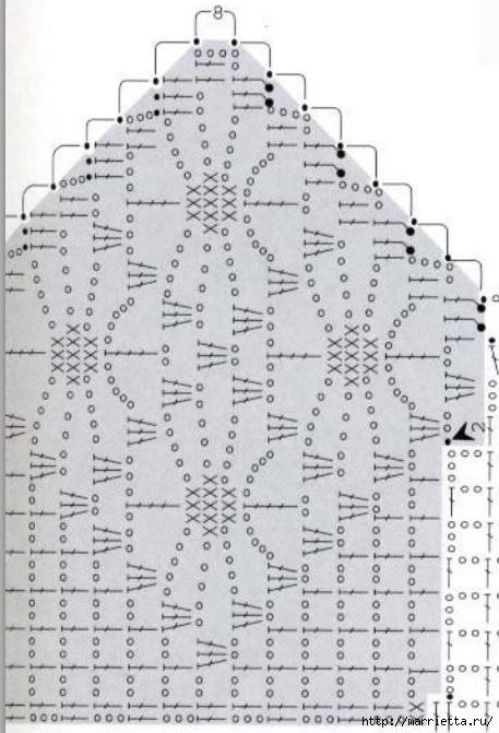 Вязание крючком. Стильные идеи и схемы для уюта в доме (25) (457x671, 174Kb)