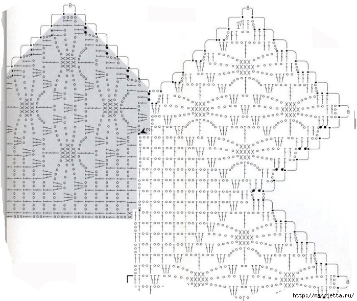 Вязание крючком. Стильные идеи и схемы для уюта в доме (26) (700x589, 251Kb)