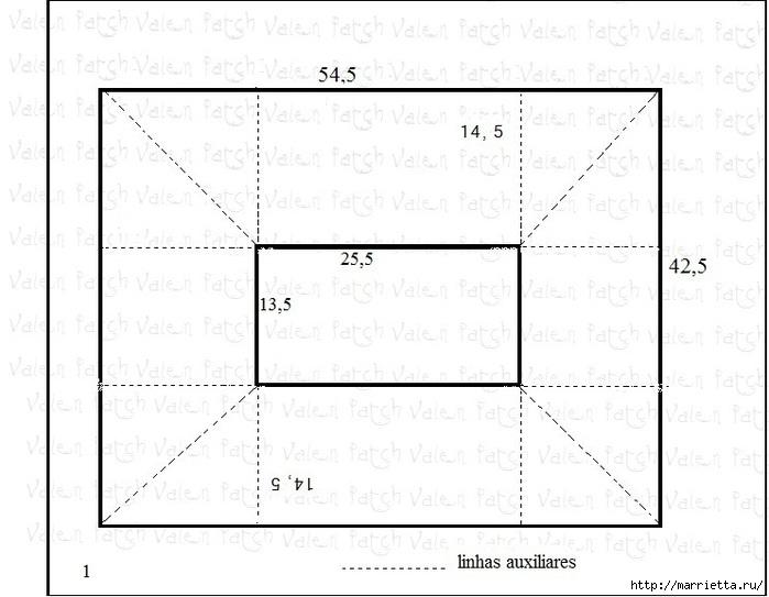 Как сшить чехол для утюга (4) (699x543, 148Kb)