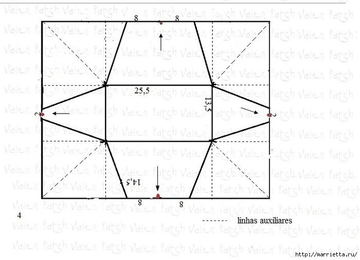 Как сшить чехол для утюга (6) (700x506, 149Kb)
