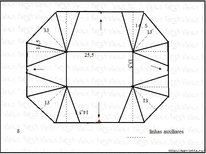Как сшить чехол для утюга (10) (693x516, 181Kb)